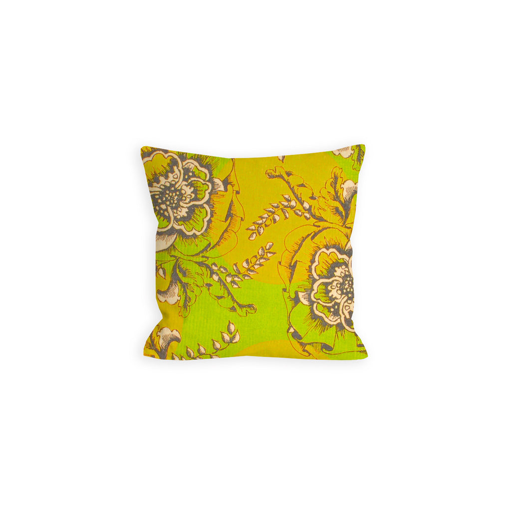Mango and Pea Green Poppy Play Pillow - LIL