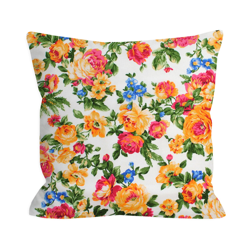 Vintage Rosey Day Pillow