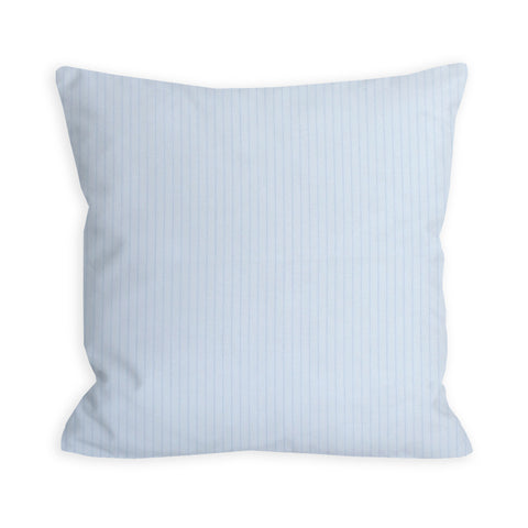 Barely There Blue Pin Print Pillow
