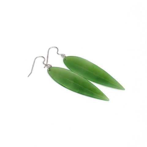 Bamboo Leaf Earrings