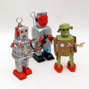 Tin Toys Robot Man