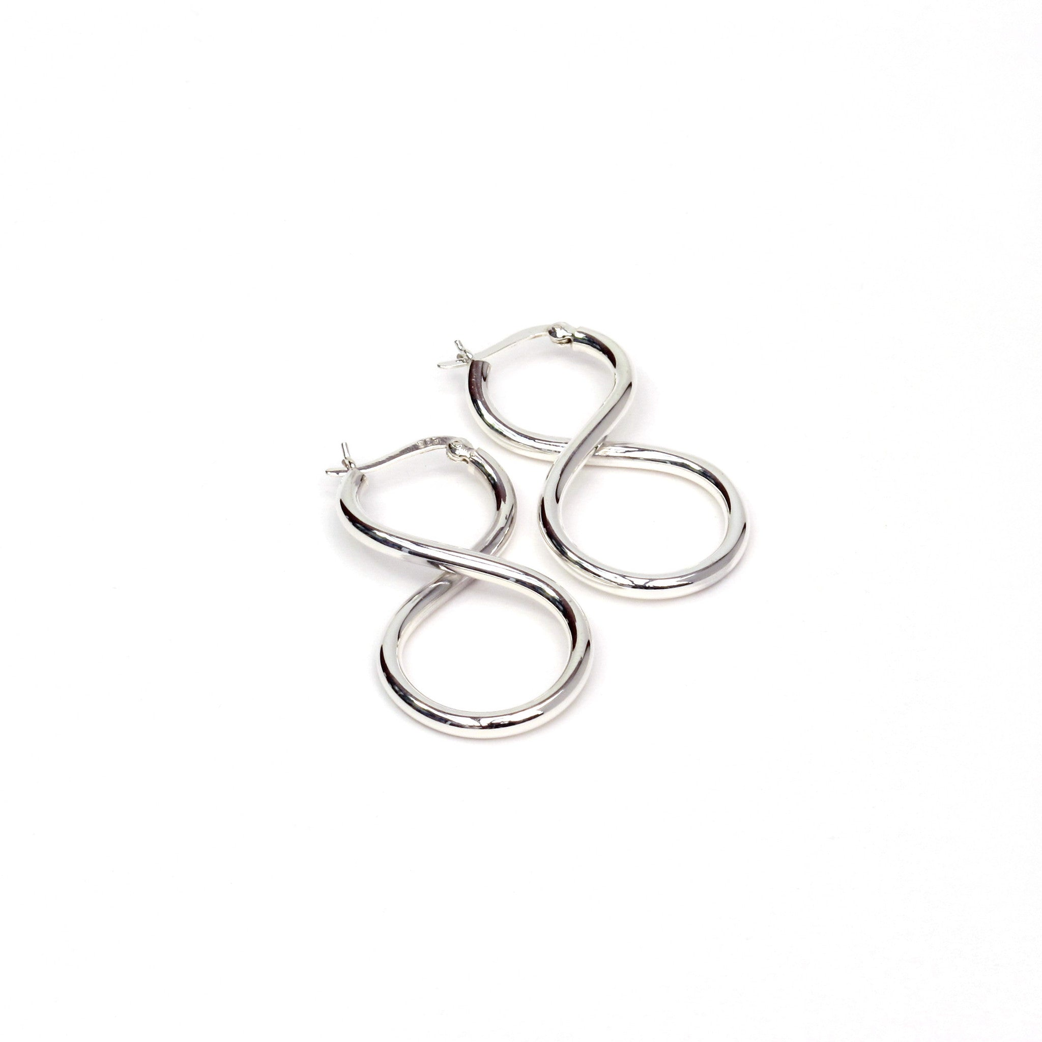 sterling silver gallery listing fullxfull earrings il infinity photo knot