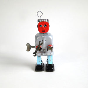 Red Face Robot
