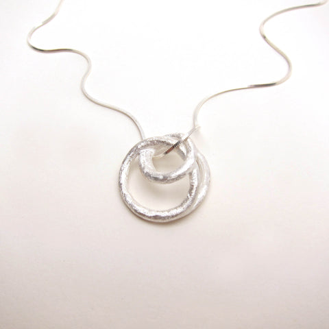 Coil Pendant Necklace