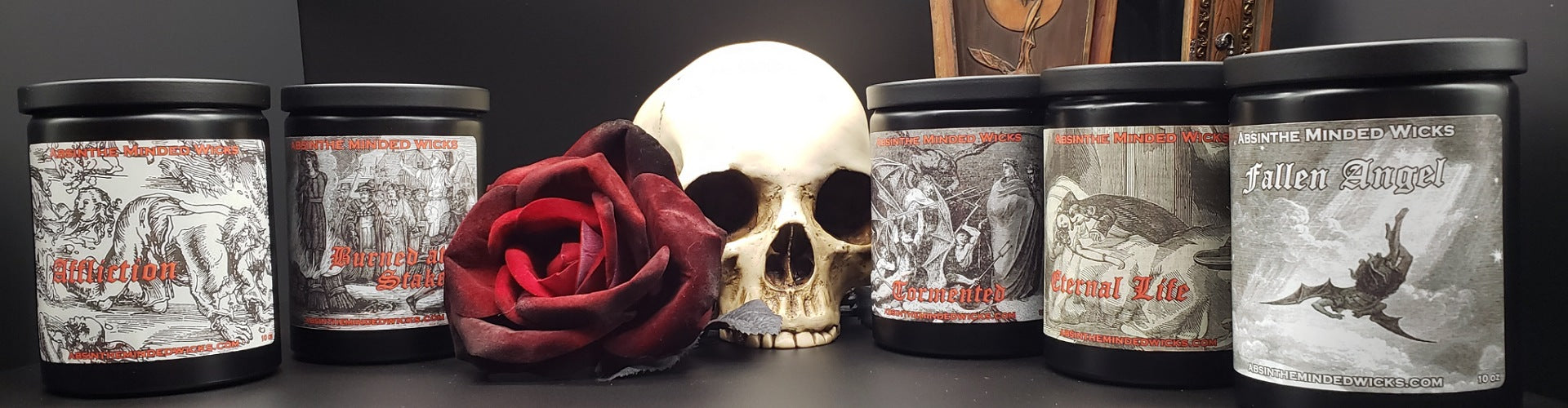 Absinthe Minded Wicks - Candle Care