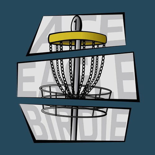 Ace - Eagle - Birdie - Disc Golf Shirt