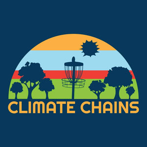Climate Chains Disc Golf for Charity T-Shirt
