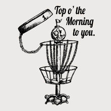 Load image into Gallery viewer, GentleBasket top of the morning disc golf shirt