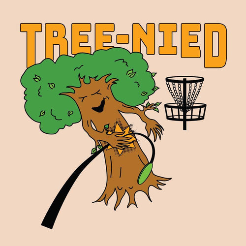 Treenied funny Disc Golf Shirt