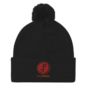 DiscPerfect Brand Beanie with Pom Top