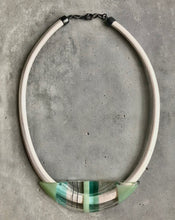 Load image into Gallery viewer, MINT/TURQUOISE STATEMENT NECKPIECE