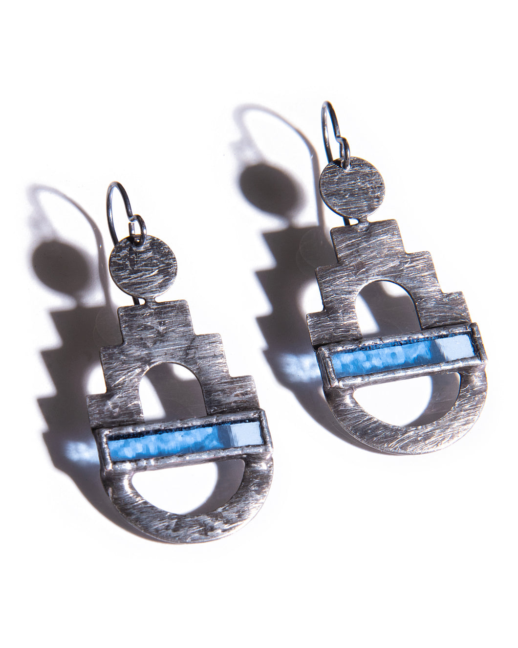 PERIWINKLE CITADEL EARRINGS