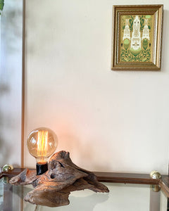 DRIFTWOOD TABLE LAMP #2