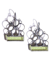 Load image into Gallery viewer, SPRING GREEN LUNA EARRINGS