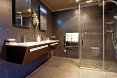 Flexible acrylic membrane coating used under tiled showers and bathroom tiled areas