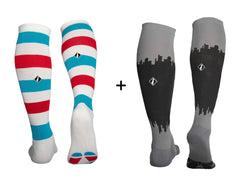 Barbershop + CityScape 2 Pair Bundle - LARGE Only
