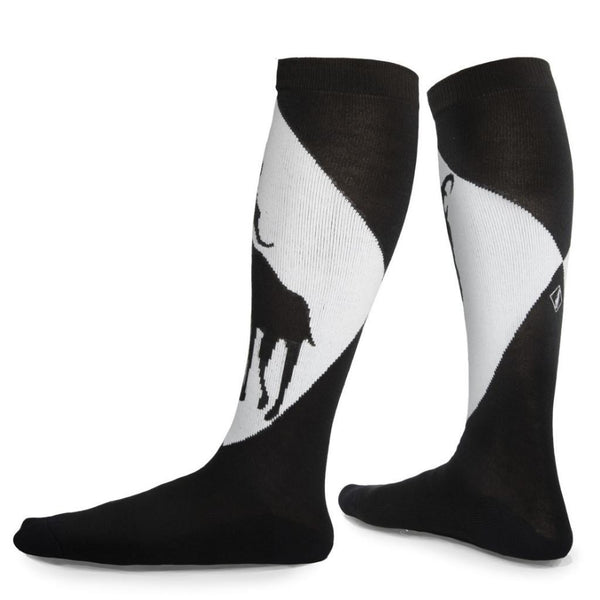 Stillhouette Black and White Goat Socks