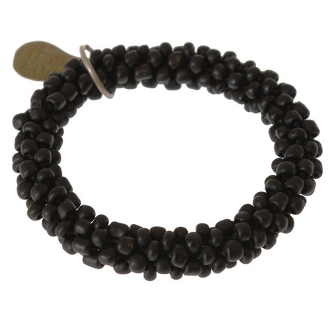 Twist Black Matt Bracelet