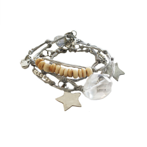 Shine-Like-A-Star Bracelets Silver