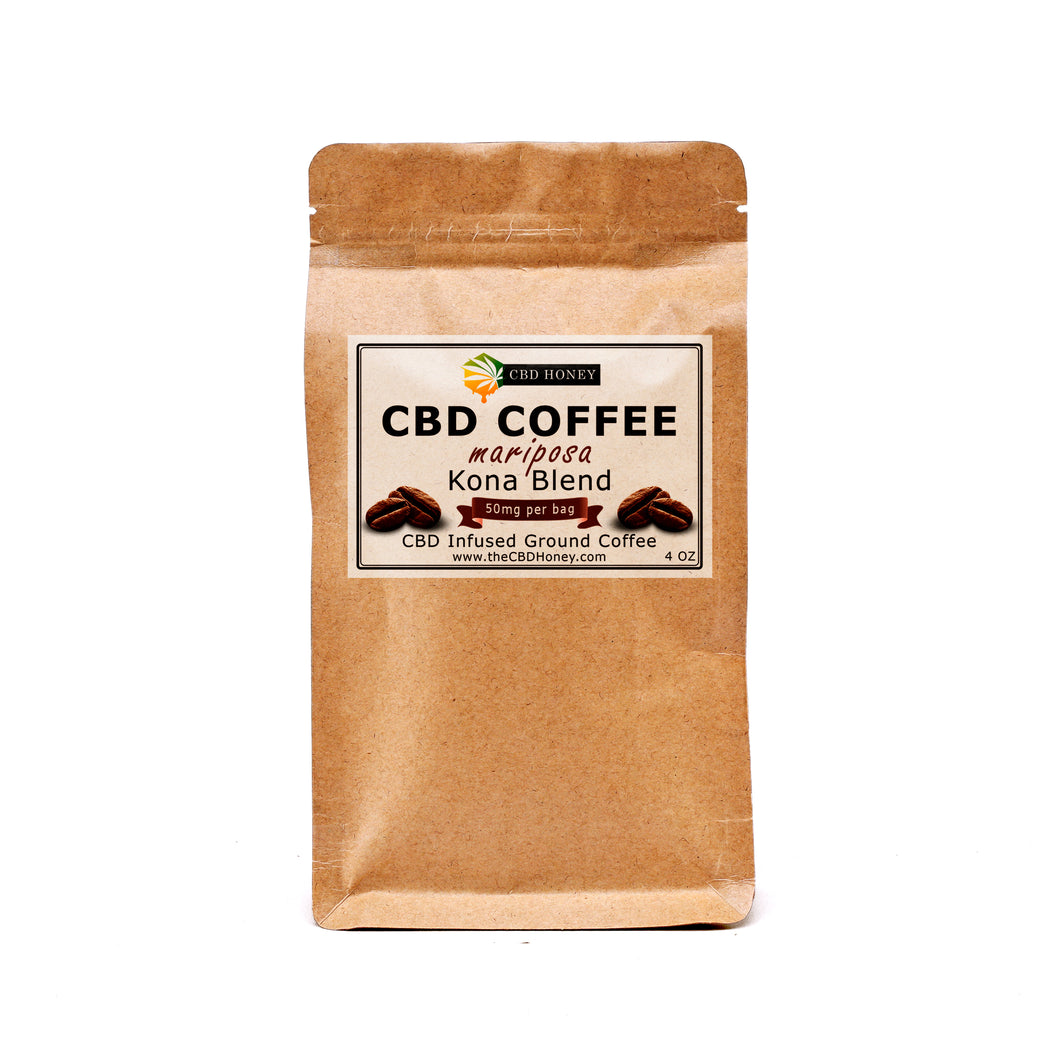 CBD Infused High Elevation Ground Coffee