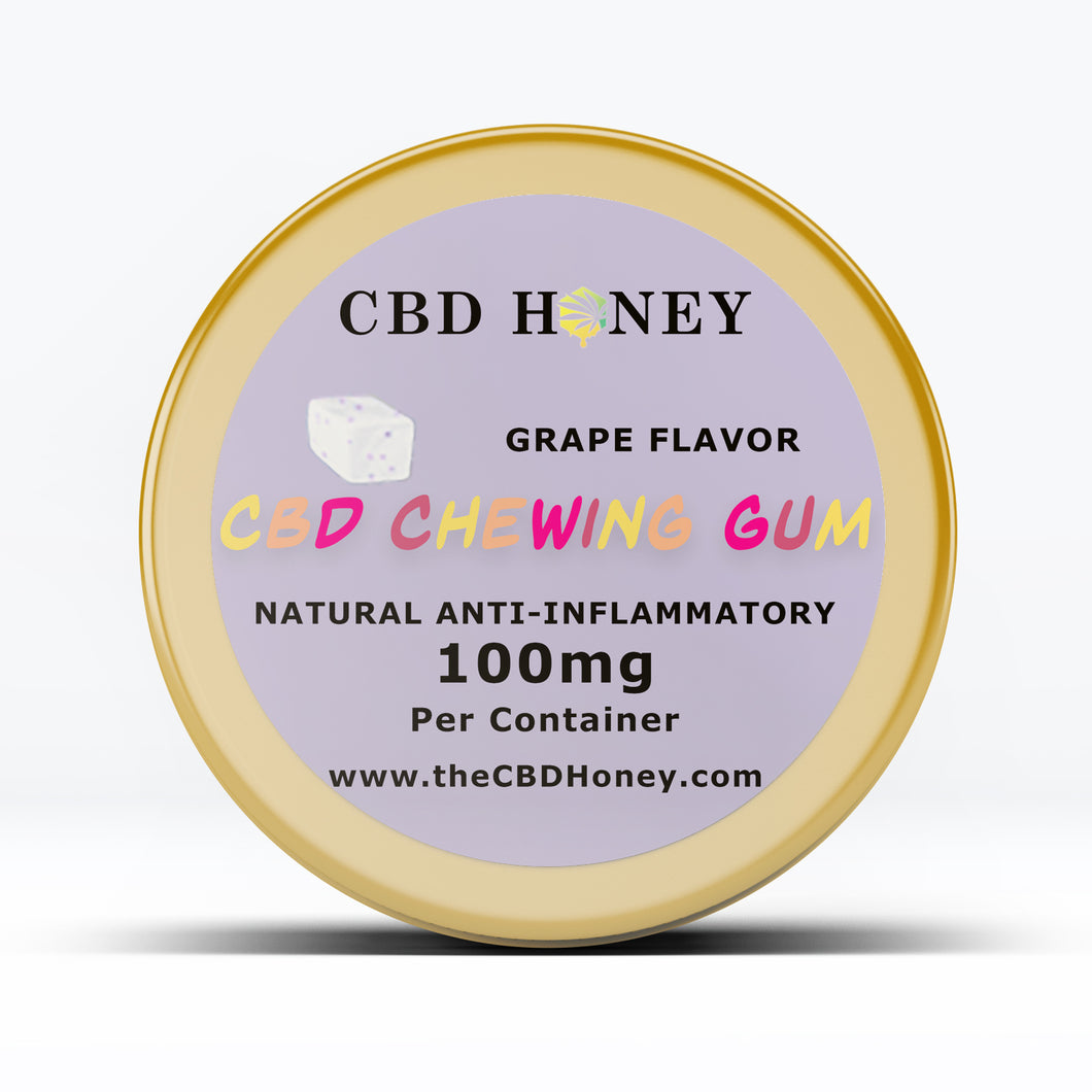 CBD Infused Chewing Gum Soft Cubes