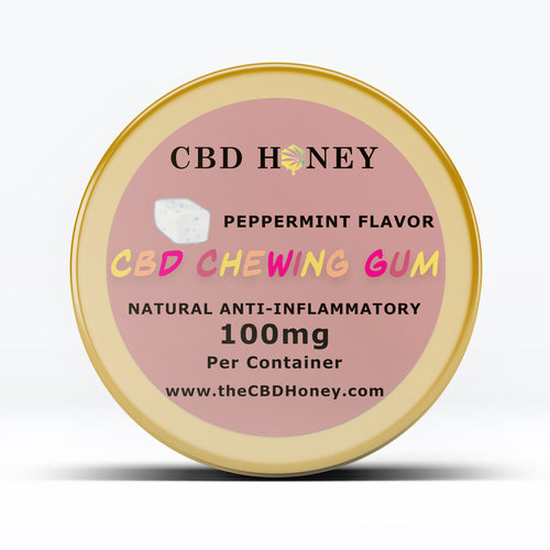 CBD Chewing Bubble Gum