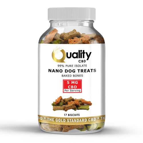 Oven Baked Nano CBD Dog Treats 85mg