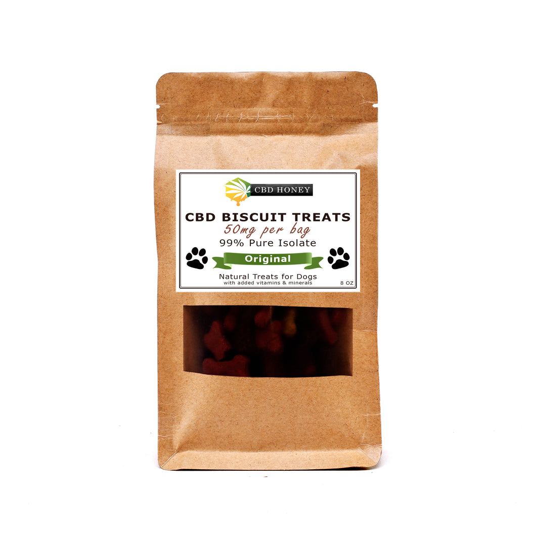 CBD Infused Biscuit Treats for Dogs