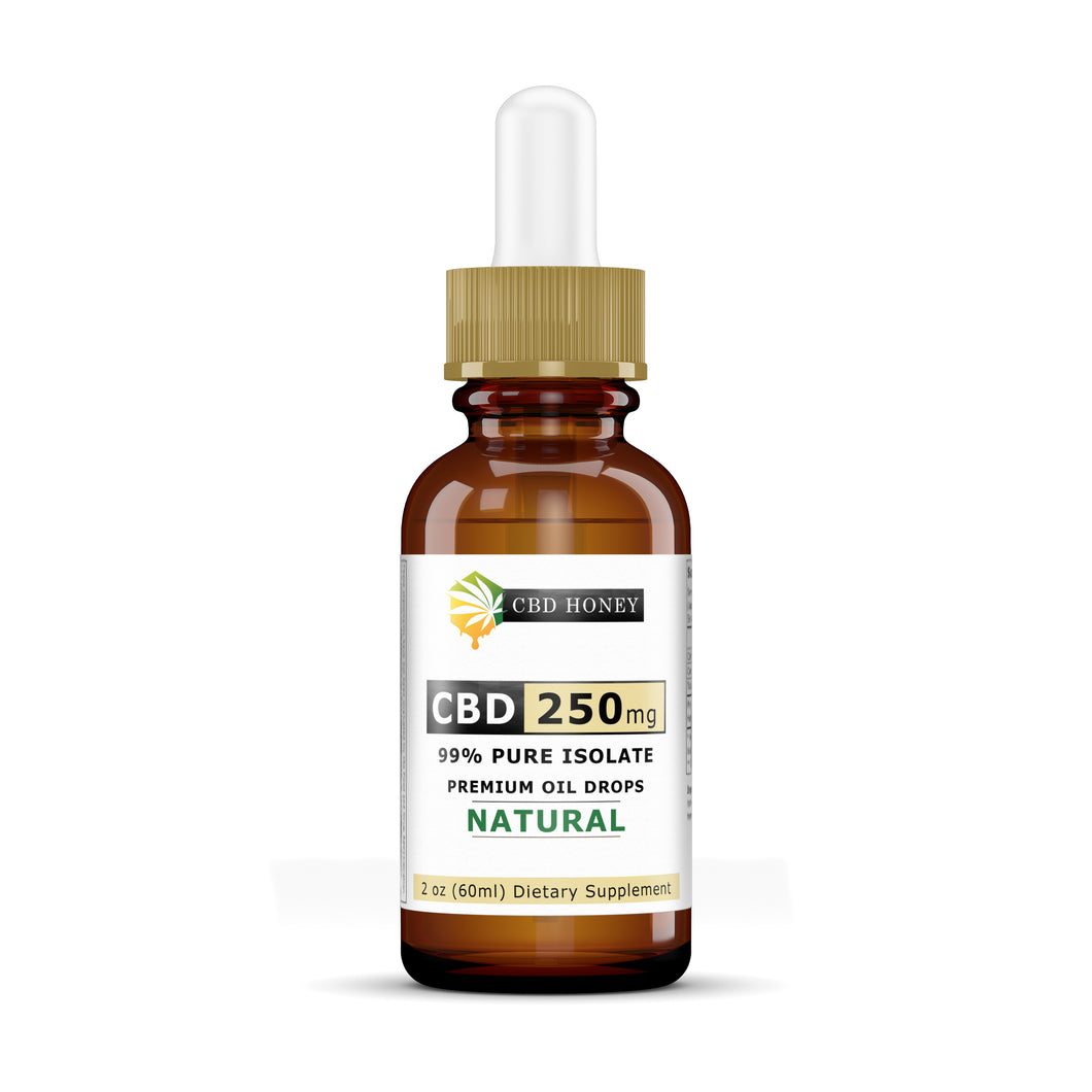 Super Size 99% Pure Isolate CBD Hempseed Oil 250MG