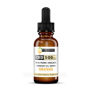 99% Pure Isolate CBD Hempseed Oil 500MG
