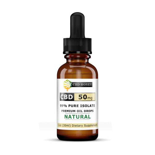 99% Pure Isolate CBD Hempseed Oil 50MG