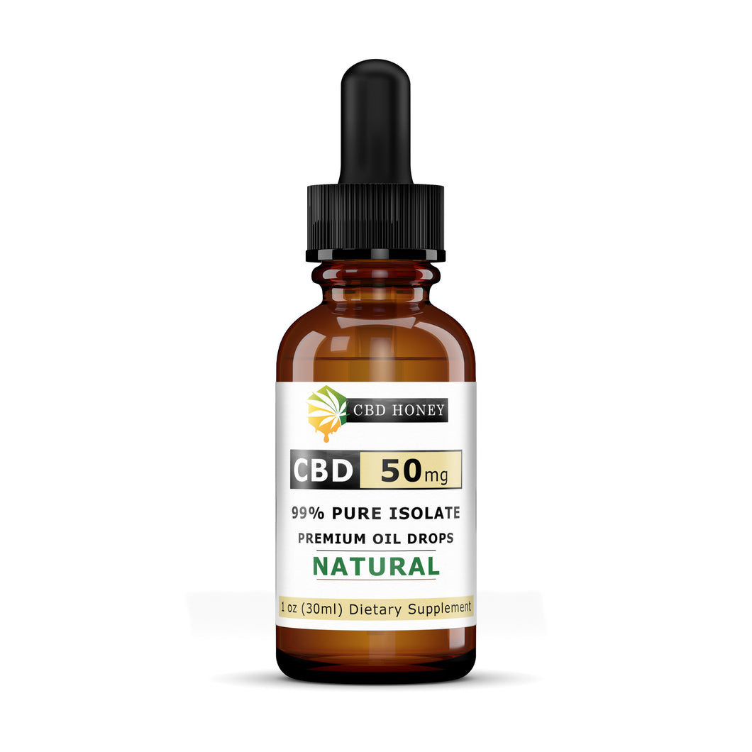 All Natural Full CBD Oil Blend 50 mg 1 oz Bottle