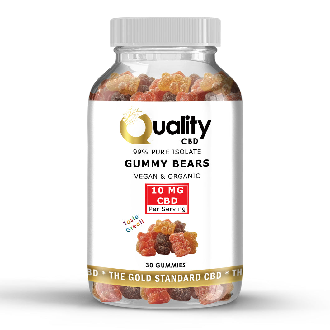 CBD Infused Vegan & Organic Gummy Bears