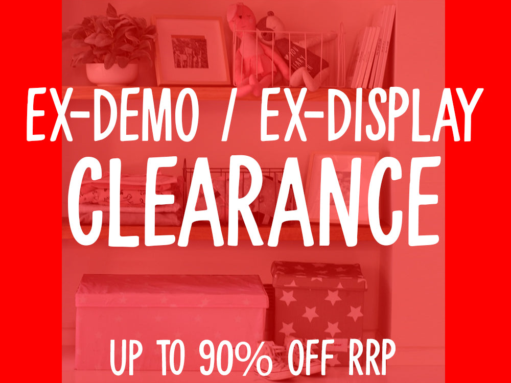 CLEARANCE - Ex-Demo/Ex-Display