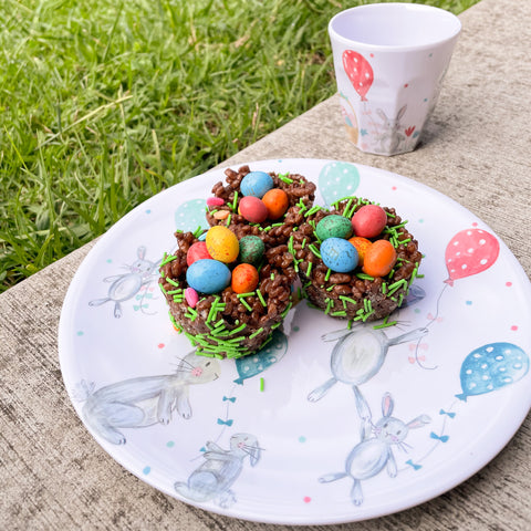 Minene's chocolate easter nests