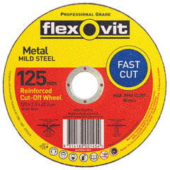 FLEXOVIT GENERAL PURPOSE CUT OFF WHEELS 100mm