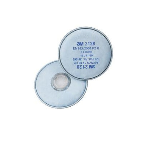 3M 2128 Filters Particle, Gas & Vapour Disk Filter GP2 (PK=2)