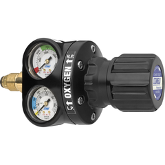 CIGWELD COMET EDGE ESS4 Oxygen Regulator with GasGuard 1000kPa -Side Entry