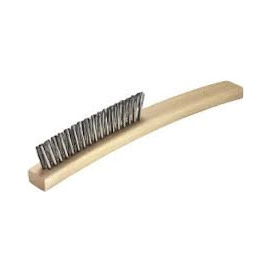 3 row carbon steel converging brush