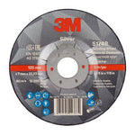 3M™ Silver Depressed Centre Grinding Wheel 125mm x 7mm x 22.2mm - Pack Of 10