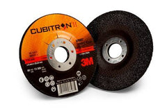 3M™ Cubitron™ II Depressed Center Grinding Wheel 125mm x 6mm x 22.2mm - Pack Of 10