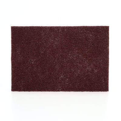 Scotch-Brite™ Production Hand Pad 8447( Maroon) 150 x 230mm - Box of 20