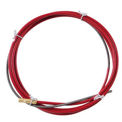 Kemppi Liner Steel Red 4.5m For MMT/PMT Mig Guns - 0.9 -1.2mm Steel Wire - 4188582