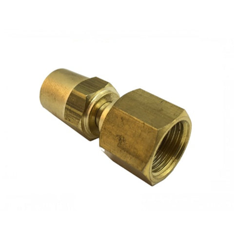 LP112 Hose Connector Right Hand 5/8-18 UNF (Oxygen) 2 pack