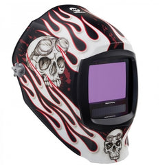 MILLER DIGITAL INFINITY HELMET - DEPARTED with Clear Light Lens