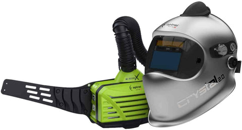 Optrel Crystal 2.0 Welding Helmet with E3000X PAPR