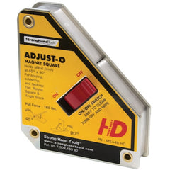 Strong Hand Tools Adjust-O Magnet Squares with ON/OFF Switch-MSA48-HD
