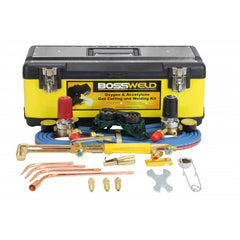 Bossweld Oxygen/Acetylene Gas Kit with Flashback Arrestor