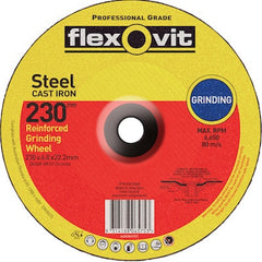FLEXOVIT GENERAL PURPOSE GRINDING WHEEL 230mm
