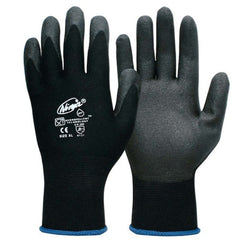 Ninja P4001 Nylon Gloves with HPT Foam Coated Palm